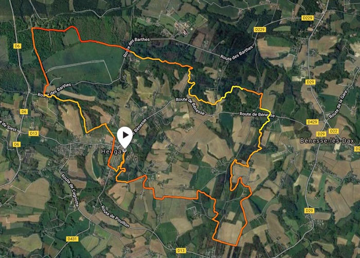 Trail de la fougère - Parcours 17 km
