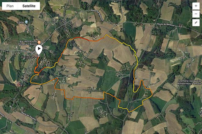 Trail de la fougère - Parcours 8 km